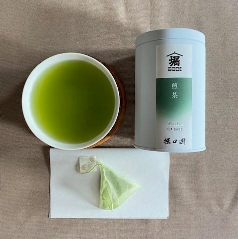 堀口園鹿児島茶特選ギフト 自社製抹茶を贅沢に使用 粉末とティーバッグの詰め合わせで急須が無くてもこだわりの鹿児島茶が楽しめます